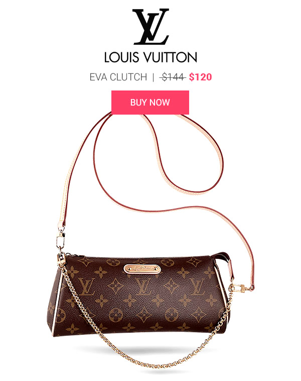 Louis Vuitton monogram Eva Clutch Replica 120